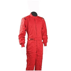 Garage Sale - Sparco Youth Single Layer Driver Suit, Red, Size Small