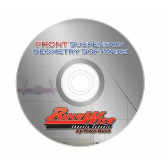Racewise Suspension Geometry Software, Front Suspension
