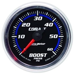Auto Meter 6170 Cobalt Digital Stepper Motor Boost Gauge, 2-1/16 Inch