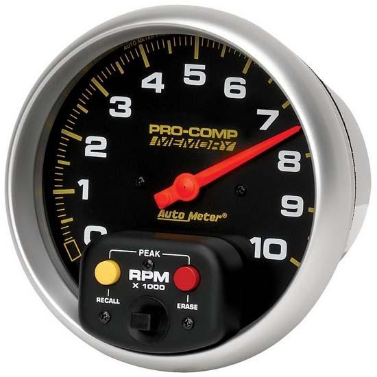auto meter 6601 pro comp air core pedestal tachometer 10k rpm 3 3 4 auto meter 6801 pro comp air core pedestal tachometer 10k rpm 5