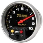 Auto Meter 6801 Pro-Comp Air-Core Pedestal Tachometer, 10k RPM, 5 Inch