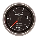 Auto Meter 7611 Sport-Comp II Mechanical Fuel Pressure Gauge