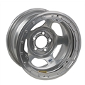 Bassett IMCA Approved Wheel - 15x8, 5 on 4 1/2 Inch, Beadlock