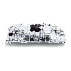 Edelbrock 21614 Performer Intake Manifold, EnduraShine, Chevy 396-454