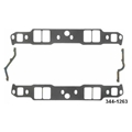 Fel-Pro P1263 Small Block Chevy Intake Manifold Gaskets-1.31x2.02 Inch