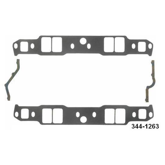 Fel-Pro P1263 Small Block Chevy Intake Manifold Gaskets-1