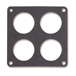 Holley 108-99 Base Gasket for 1250 CFM Dominator carburetors.