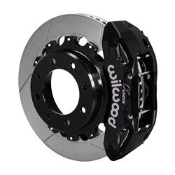 Wilwood 140-13874 TX6R Big Brake Truck Rear Brake Kit, Black, 15.5 In