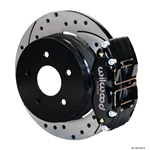 Wilwood 140-8754-D Dynapro Radial Mount Rear Brake Kit, 04-06 GTO