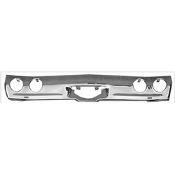 Golden Star BU03-71R 1971-1972 Chevelle Chrome Rear Bumper