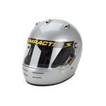 Garage Sale - Impact Super Sport SA10 Racing Helmet, Silver, Size Small