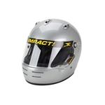 Garage Sale - Impact Super Sport SA10 Racing Helmet, Silver, Size Small