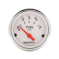 Auto Meter 1317 White Fuel Gauge