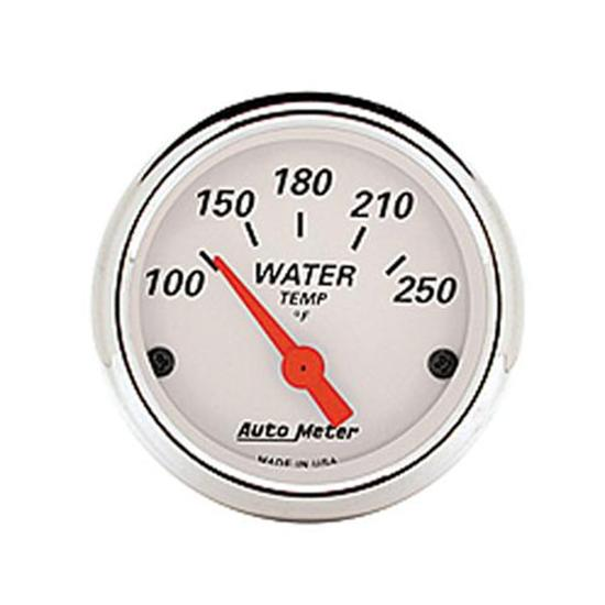 Auto Meter 1337 White Electric Water Temperature Gauge