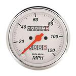 Auto Meter 1396 White Mechanical Speedometer Gauge