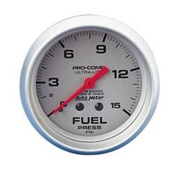 Auto Meter 4411 Ultra-Lite Fuel Pressure Gauge