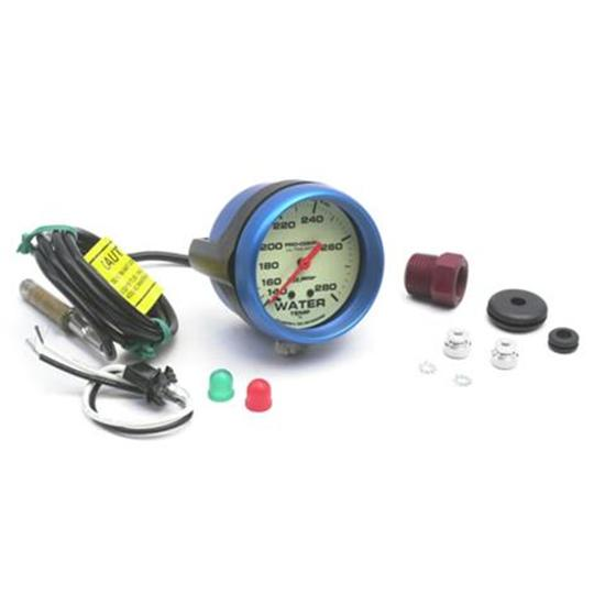 Auto Meter 4535 Ultra-Nite Water Temperature Gauge-4 Ft Capillary Tube