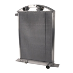 AFCO 1937-38 Ford Aluminum Radiator, Chevy Engine