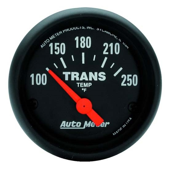 Auto Meter 2640 Z-Series Air-Core Transmission Temperature Gauge