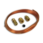 Auto Meter 3224 Mechanical Pressure Gauge Tubing Kit, Copper Line