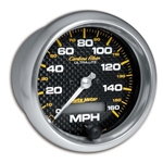 Auto Meter 4789 Carbon Fiber Air-Core Speedometer Gauge, 3-3/8 Inch