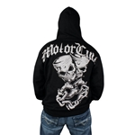 MotorCult Pistskulls Zip Hoodie