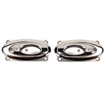 Clayton Machine EL-503 Open Ellipse Elliptical Bezel Door Handles