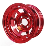 Aero 33-974030RED 33 Series 13x7 Wheel, Lite, 4 on 4 BP, 3 Inch BS