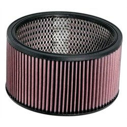 K&N E-3650 Lifetime Performance Air Filter, 5in Tall, Round