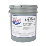 Garage Sale - Lucas 10072 SAE 75W-90 Synthetic Racing Gear Oil, 5 Gallon