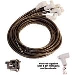 MSD 31223 Black Super Conductor 8 Cyl, 90 Deg Plug, 90 Deg Plug