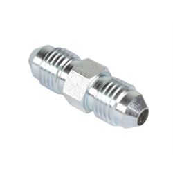 Steel Straight Adapter -4 AN to -4 AN