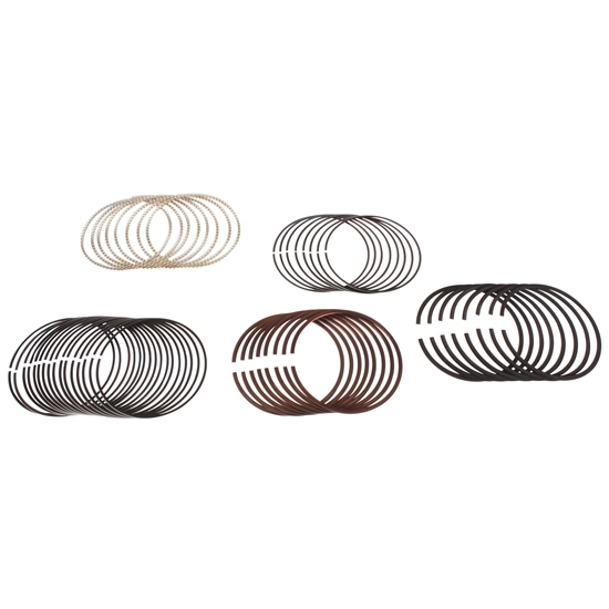 Total Seal Maxseal Gapless Top Piston Rings, 4.125 Bore, Style F