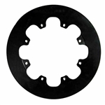 Wilwood 160-0201 Solid Steel Rear Drag Rotor, 11.44 x .350 - 8 on 7 In