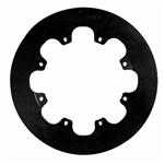 Wilwood 160-0201 Solid Steel Rear Drag Rotor, 11.44 x .350 - 8 on 7 In