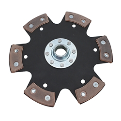 Zoom Clutches RD1039CB 2.3 Ford 7-3/4 Inch Racing Clutch Disc-Metallic