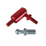 Male Aluminum Quick Release End Fitting for Throttle Linkage