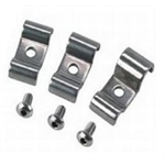 Stainless Steel Dual Brake Line Tube Clamps, Bag/12