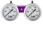 Large easy to see and read gauges