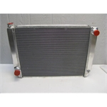 Garage Sale - Griffen Aluminum 27.5 Inch Racing Radiator, Double Row Core