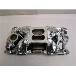 Garage Sale - Edelbrock RPM Air-Gap Small Block Chevy Intake Manifold, Endurashine