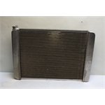 Garage Sale - 27.5 Inch Griffin Aluminum Racing Radiator - Single Row Core