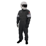 Garage Sale - Simpson Nomex One Piece Double Layer Racing Suit, SFI-5, Black, Size M