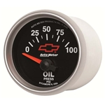 Auto Meter 3627-00406 GM Black Air-Core Oil Pressure Gauge, 2-1/16 In.