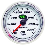 Auto Meter 7356 NV Digital Stepper Motor Oil Temperature Gauge