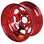 Aero 52-984710RED 52 Series 15x8 Wheel, 5 on 4-3/4 BP, 1 Inch BS IMCA