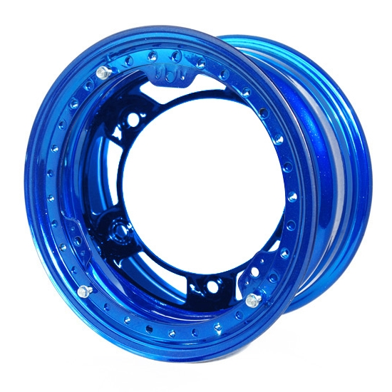 Aero 53-920560BLU 53 Series 15x12 Wheel, BL, 5 on WIDE 5, 6 Inch BS