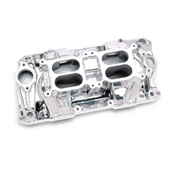 Edelbrock 75254 RPM Air Gap Dual-Quad Intake Manifold, SB Chevy