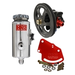 KRC KRC59010010 Cast Iron SBC Pump Kit V-Belt Head Mount Remote Tank