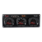 Longacre 44516 Stepper Motor Racing Gauges, 3 Gauge Panel
